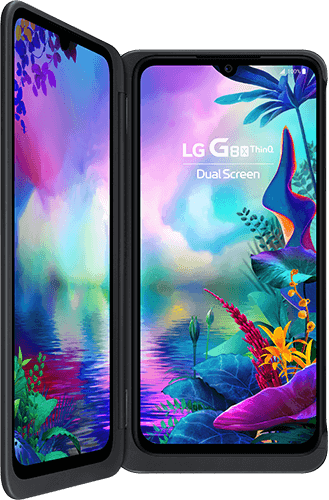 LG G8x ThinQ Dual Screen Dual-SIM-Black