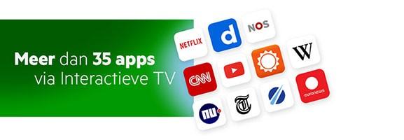 Extra dienst: Meer TV apps KPN