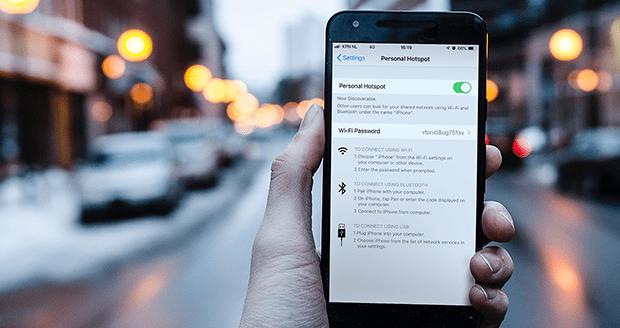 KPN wifi hotspot maken