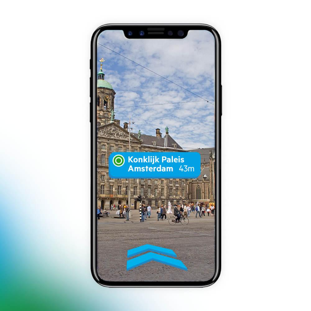Augmented Reality met navigatie
