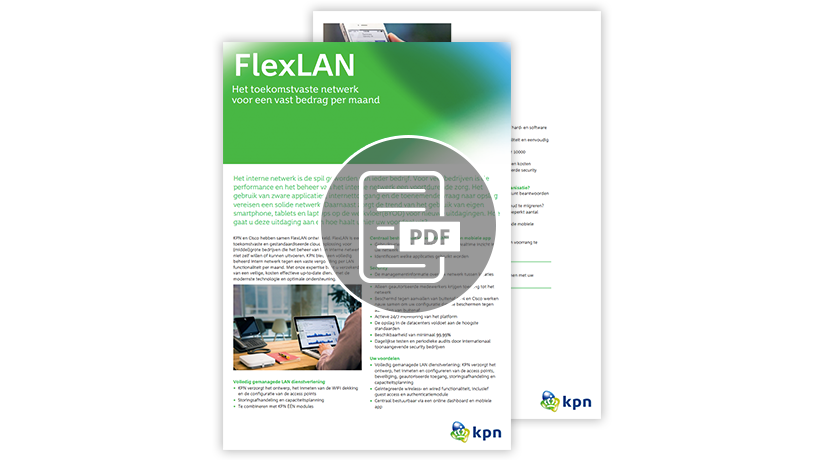 LAN netwerk - flexlan