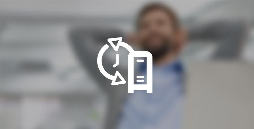 Backup Online voor Servers van 25 GB tot 250 GB