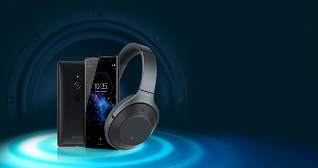 Sony Xperia XZ2 met gratis Sony headset