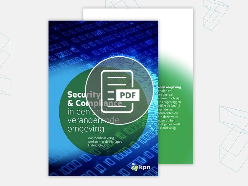 Security en compliance in een snel veranderende omgeving