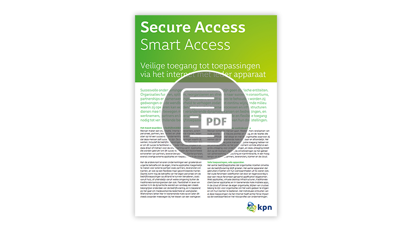 Leaflet Secure Access - Smart Access