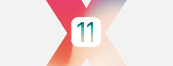 iOS 11 iPhone X