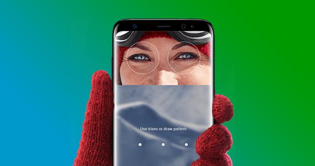 Samsung S9 irisscanner