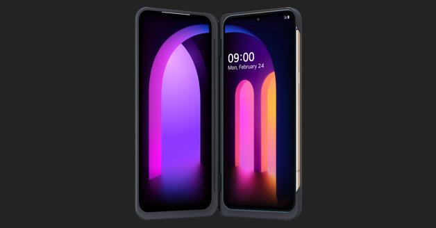 LG V60 ThinQ 5G Dual Screen