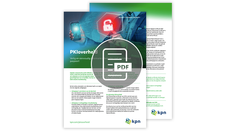 PKI Overheid en strong authentication