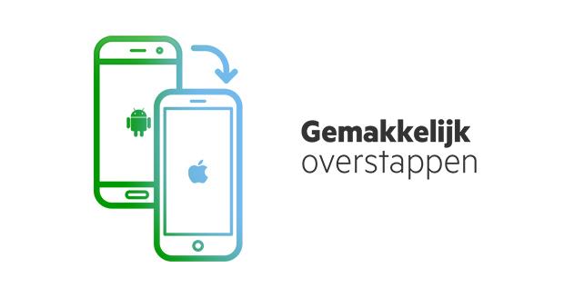 Overstap Android naar iPhone