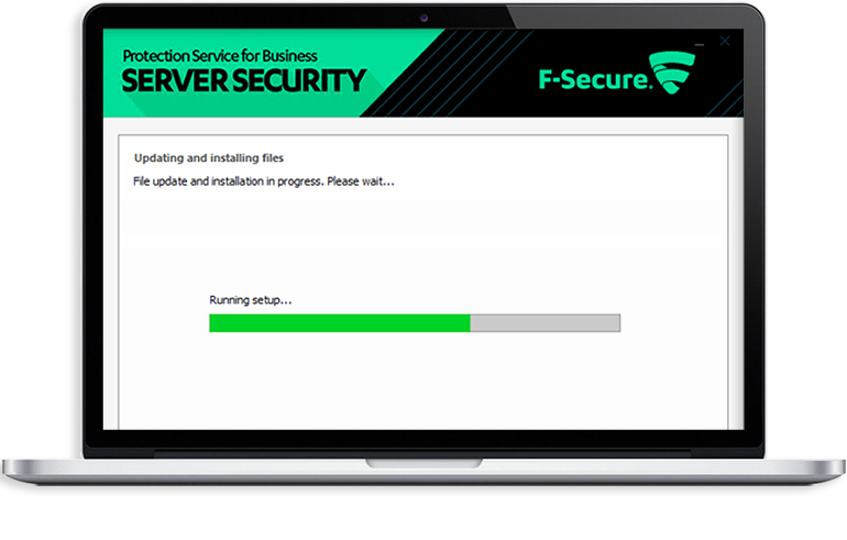 Installatie Internetveiligheidspakket voor servers