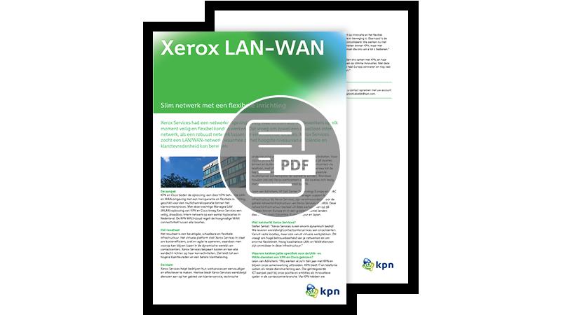 LAN netwerk klantcase Xerox