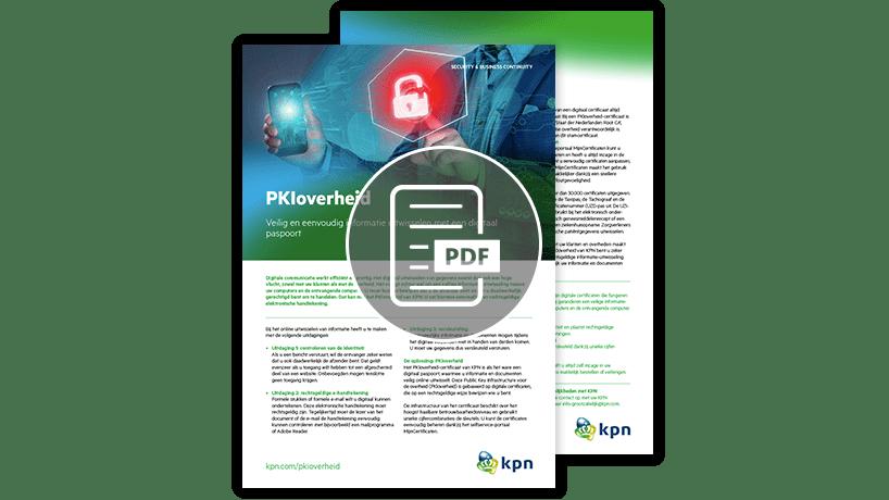 PKI Overheid en strong authentication