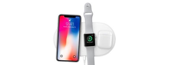 iPhone X draadloos opladen