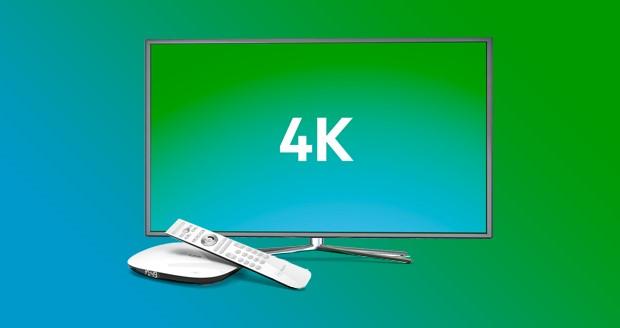 4K tv-kijken