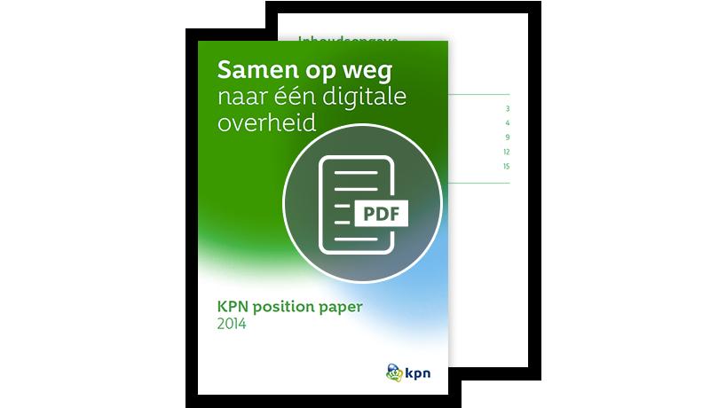 PDF Samen op weg naar 1 digitale overheid