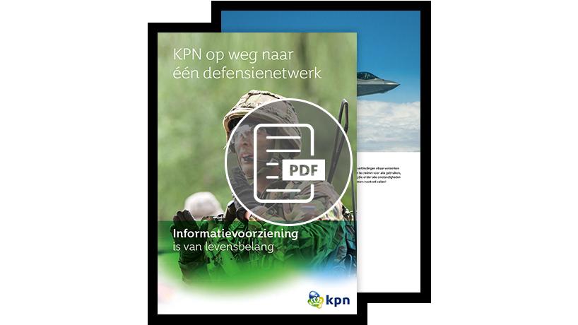 Download de visiepaper: KPN op weg naar naar 1 defensienetwerk