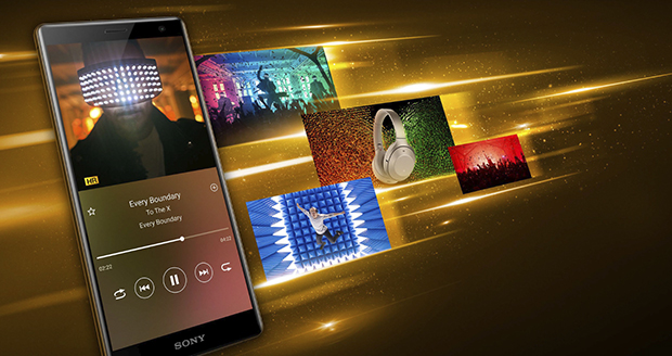 De Sony Xperia XZ2 speelt video's, films en muziek in optimale kwaliteit af.