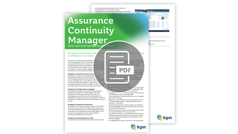 Download whitepaper: Assurance Continuity Manager