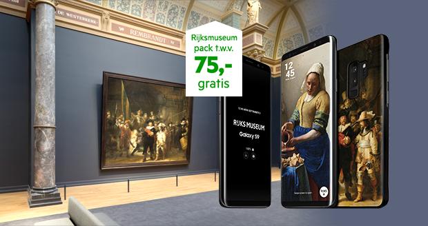 Rijksmuseum actie Samsung S9, Note9