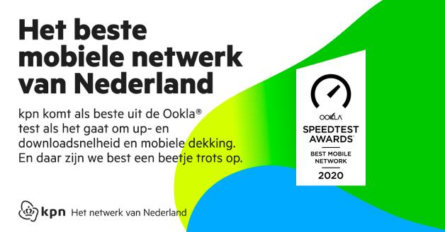 Ookla beste netwerk van Nederland