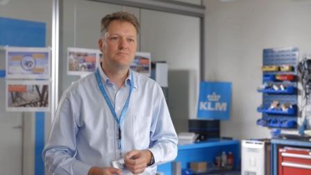 Peter Huisman, Innovation Manager, KLM