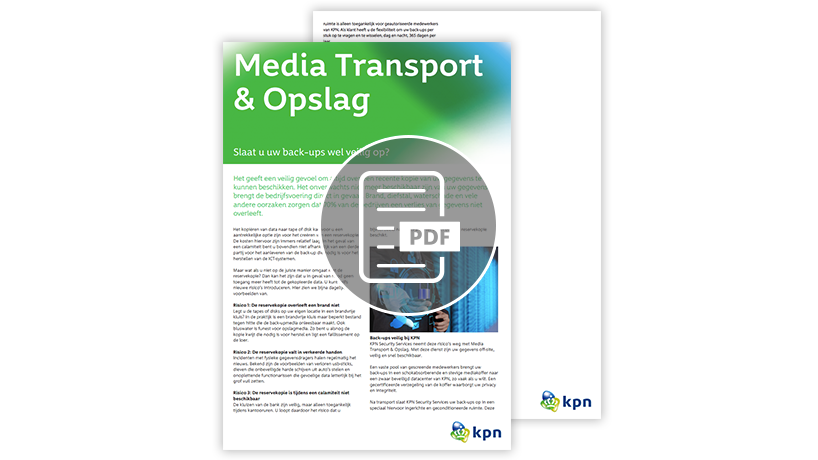 Whitepaper Media, transport en opslag