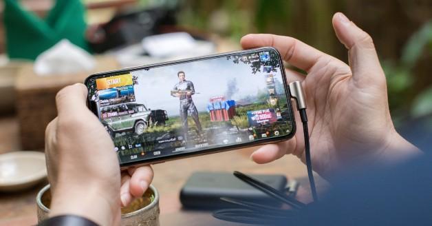 Cloud gaming met Google Stadia op een telefoon