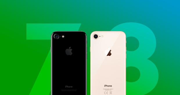 iPhone 8 vergelijken met iPhone 7