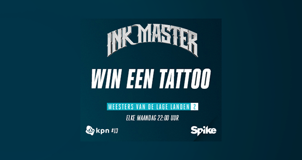 Ink Master: win een tattoo