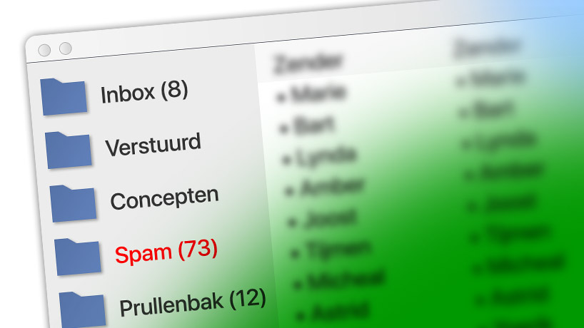E-mail spamfilter