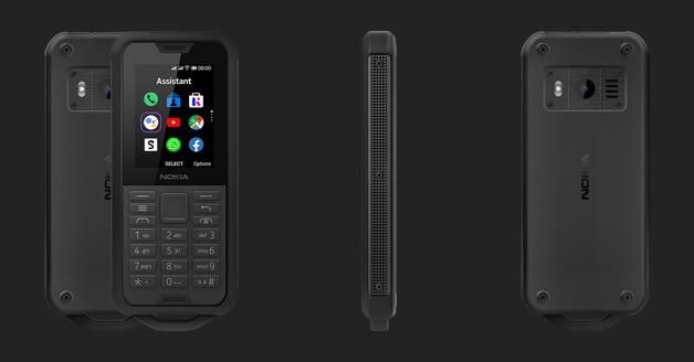 Rugged smartphone: Nokia 800 Tough