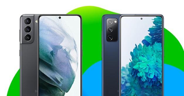 Samsung S21 vs. S20
