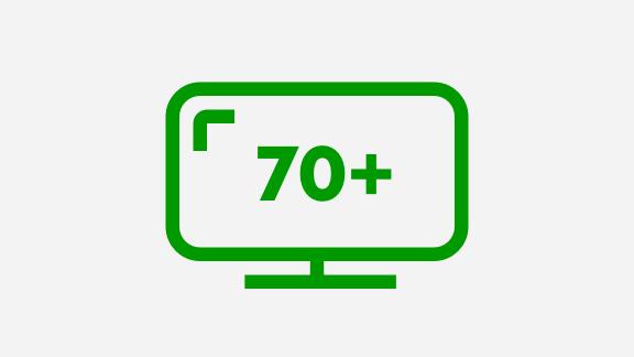 Content blok ITV - 70 zenders