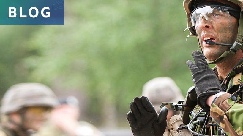 ICT in het veld: op oefening met Defensie