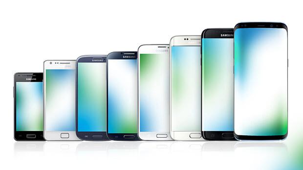 Samsung Galaxy geschiedenis