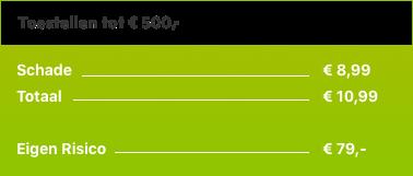 Toestellen tussen de 300 euro en 500 euro