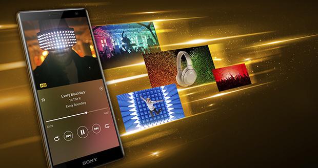 De Sony Xperia XZ2 speelt video's, films en muziek in optimale kwaliteit af.