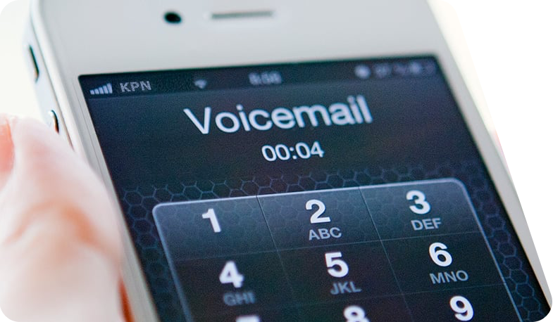Voicemail app