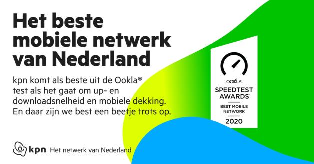 KPN beste mobiele netwerk in Nederland uit test Ookla
