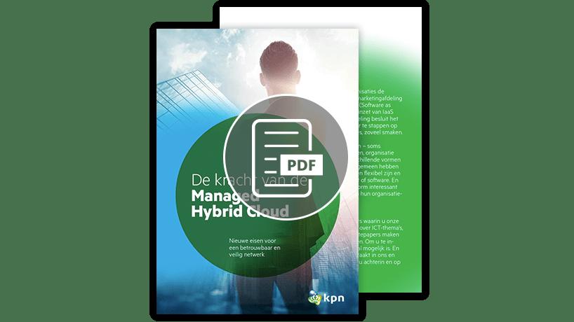 Download de whitepaper: Managed Hybrid Cloud