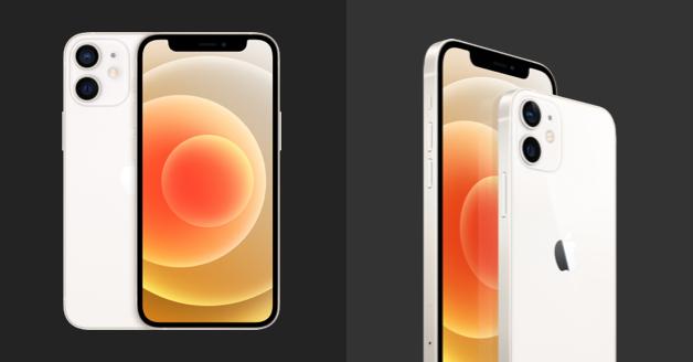 iPhone 12: voor- en achterkant