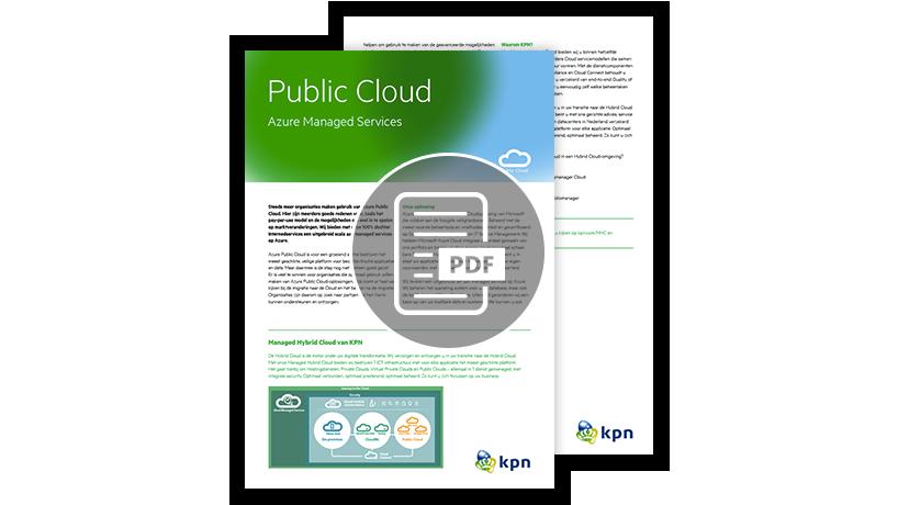 Download de factsheet: Public Cloud