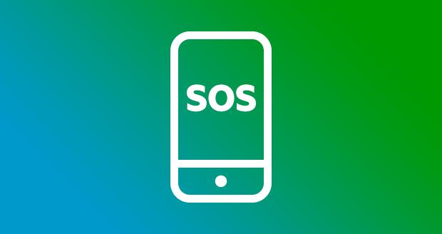 Sos-functie instellen op je smartphone