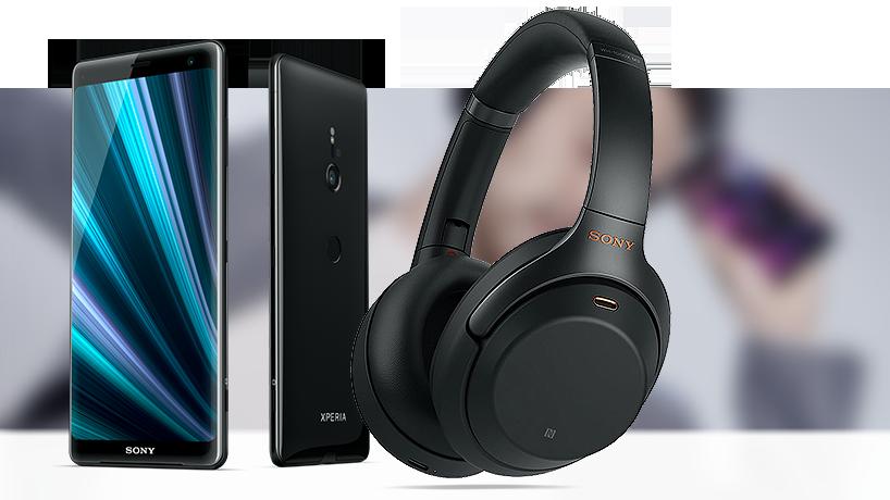 Sony Xperia XZ3 headset