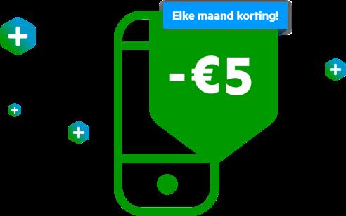 KPN Compleet voordeel: 5 euro korting per maand