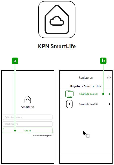 KPN SmartLife-app registreren