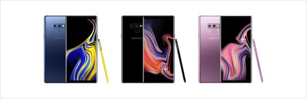 Nieuwe Samsung designs en kleuren