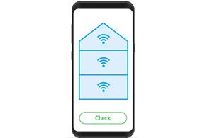 Doe de wifi check met de wifi tuner van KPN