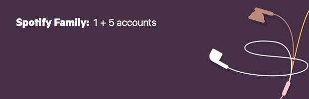 Spotify Family voor 14,99 per maand
